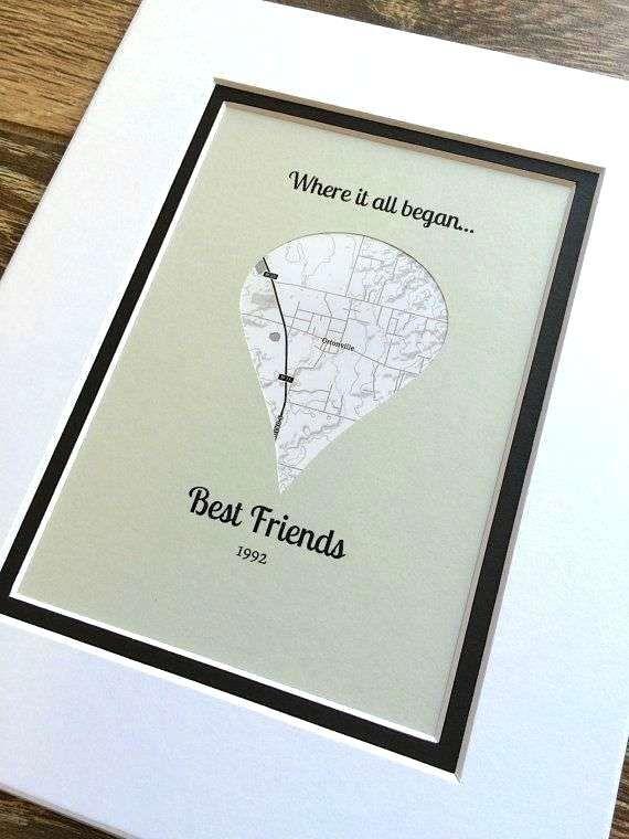 Farewell Gift For Friends Handmade Ideas New Where It All Began Best