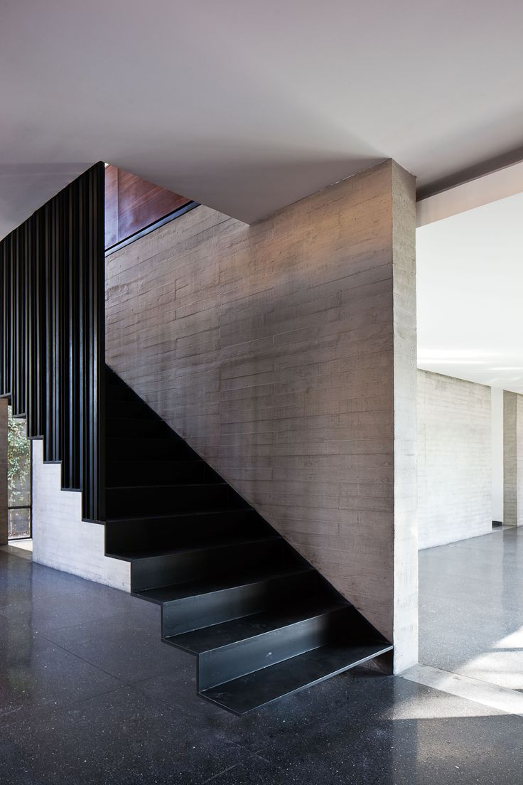 Galer a de casa fuentes dmp arquitectura 5 escalera - Tipos de escaleras de interior ...