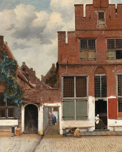 Johannes Vermeer. View of Houses in Delft, known as 'The little Street' c. 1658. Rijksmuseum | ARScentre