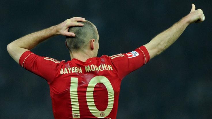 Arjen Robben----Netherlands winger