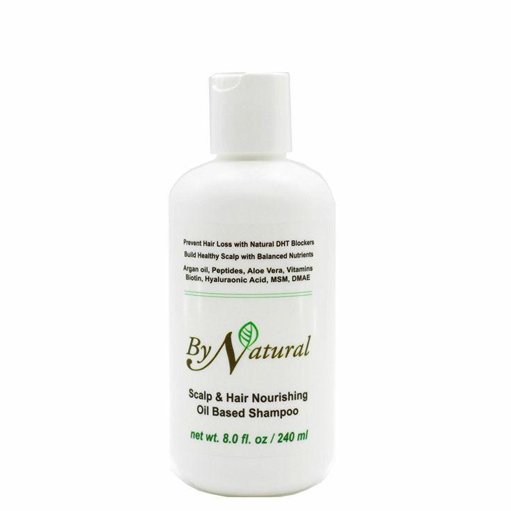 Bynatural scalp and hair nourishing oil based shampo hair