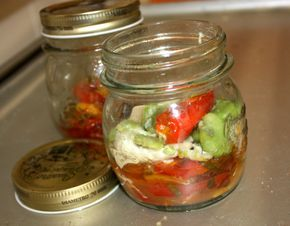 Pesce e verdure mediterranei in vasocottura