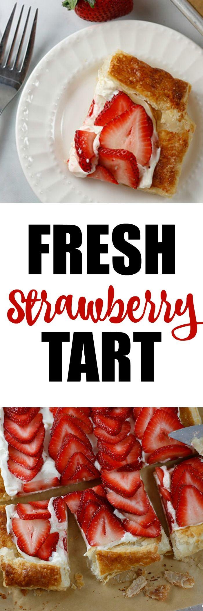 Fresh Strawberry Tart by RoseBakes.com with @Splenda #SplendaSweeties #SweetSwaps
