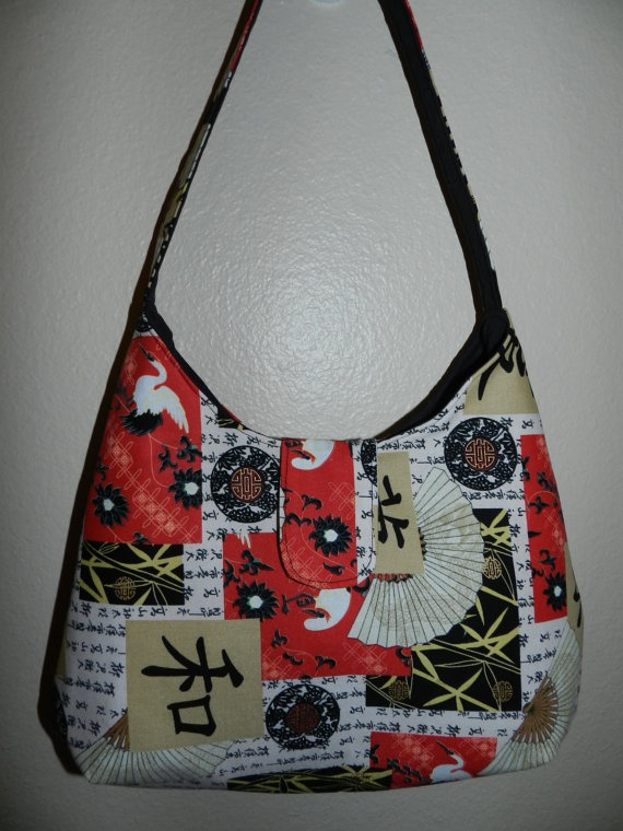 Asian Collage Purse by FAVAsDesigns on Etsy, $25.00