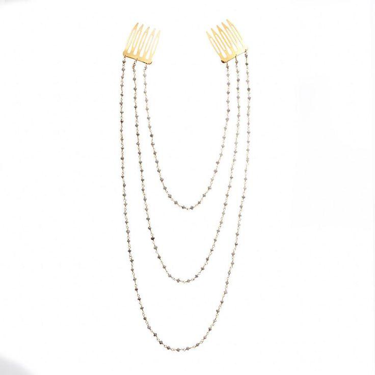 labradorite-hair jewelry