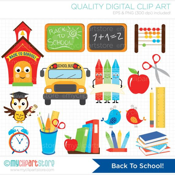 BACK TO SCHOOL Vector Clip Art - school house, school bus, chalk board, owl, graduation hat, certificate, books, apple, file folders, crayons, abacus, black board --------------------------------------------------------------------------------------- ► Similar Items Available Here: http://etsy.me/1hLvFyG --------------------------------------------------------------------------------------- SPEND $25 - GET 15% OFF - COUPON: SAVE15 SPEND $50 - GET 20% OFF - COUPON: SAVE20 ------...