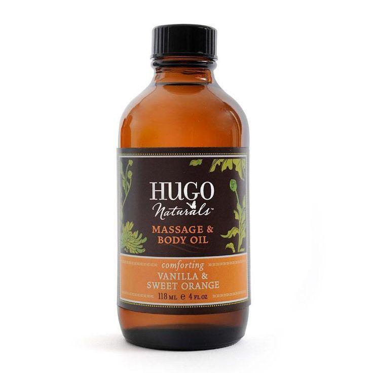Vanilla & Sweet Orange Massage & Body Oil