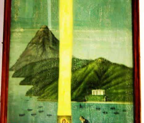Μυστηριώδεις Στήλες Φωτός στο Άγιο Όρος ! ! !