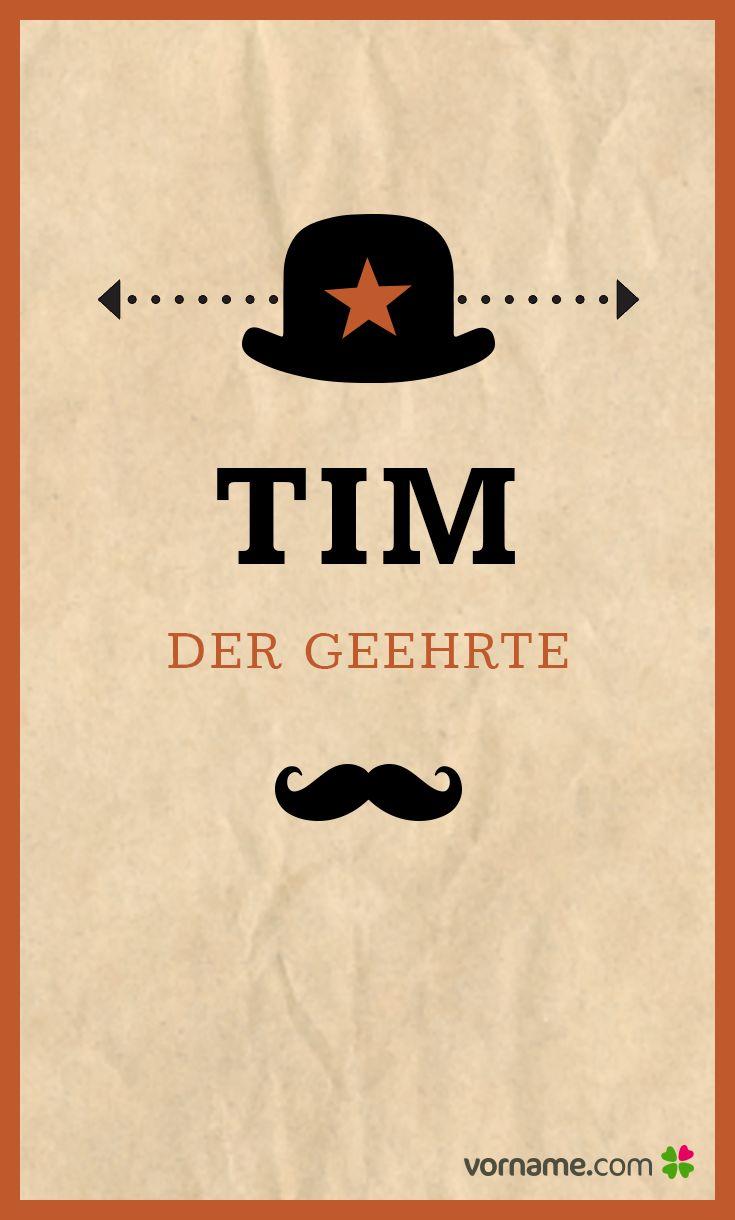 Dir gefällt der Name Tim? Dann finde heraus, wo der beliebte Jungenname herkommt, was er bedeutet, wann sein Namenstag ist und vieles mehr. Alle Infos zum Namen Tim auf Vorname.com entdecken!