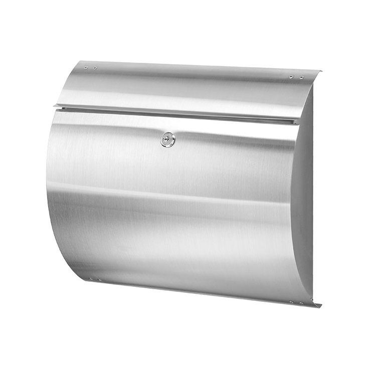 RVS mat postkast 330x375mm