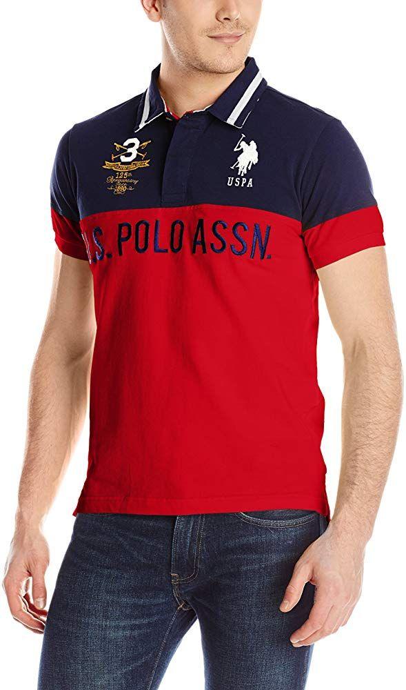 Damen Slim Fit Pique Polo Shirt Poloshirt U.S POLO ASSN