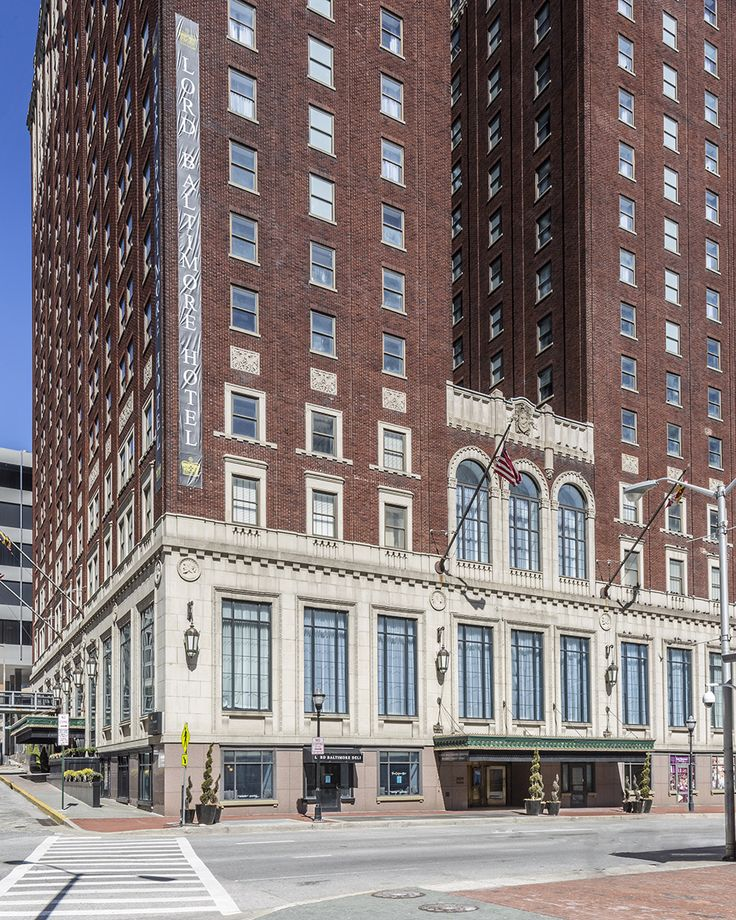 Vintage Hotels, Baltimore Maryland And Haunted Houses