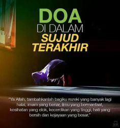 """"""" Ya Allah, tambahkanlah bagiku rezeki yang banyak lagi halal, imam yang benar, ilmu yang bermanfaat, kesihatan yang elok, kecerdikan yang tinggi, hati yang bersih dan kejayaan yang besar. #very #nice """""""