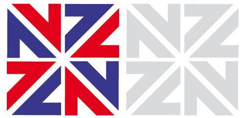 Айдентика Игр Британского содружества в Новой Зеландии 1974 года (Новая Зеландия — еще без папоротника)