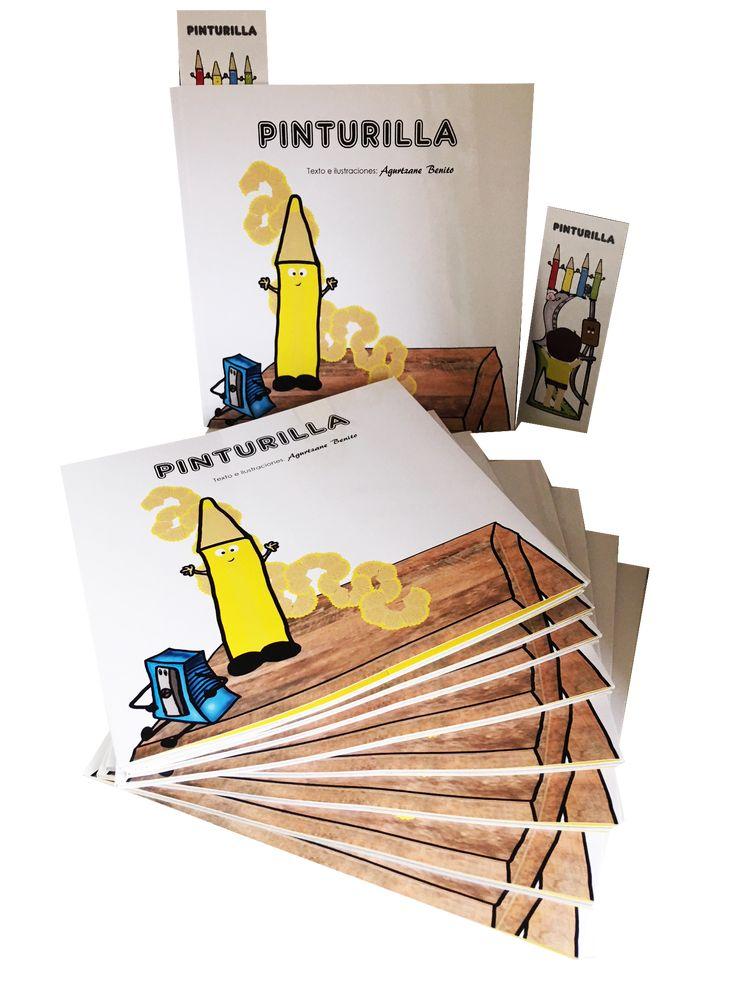 Os presento el booktrailer de Pinturilla. #cuentosinfantiles