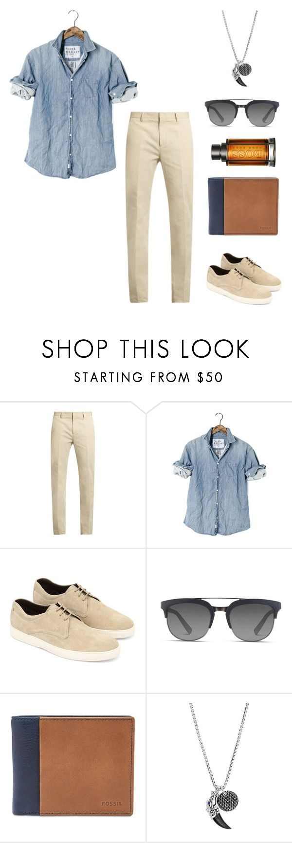 """Come here lover boy!"" by jess-heppell-designer on Polyvore featuring Calvin Klein Collection, Tod's, Dolce&Gabbana, FOSSIL, John Hardy, BOSS Hugo Boss, men's fashion and menswear"