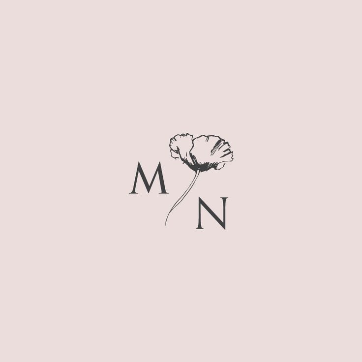 Morgan Northway Monogram Logo by Little Trailer Studio