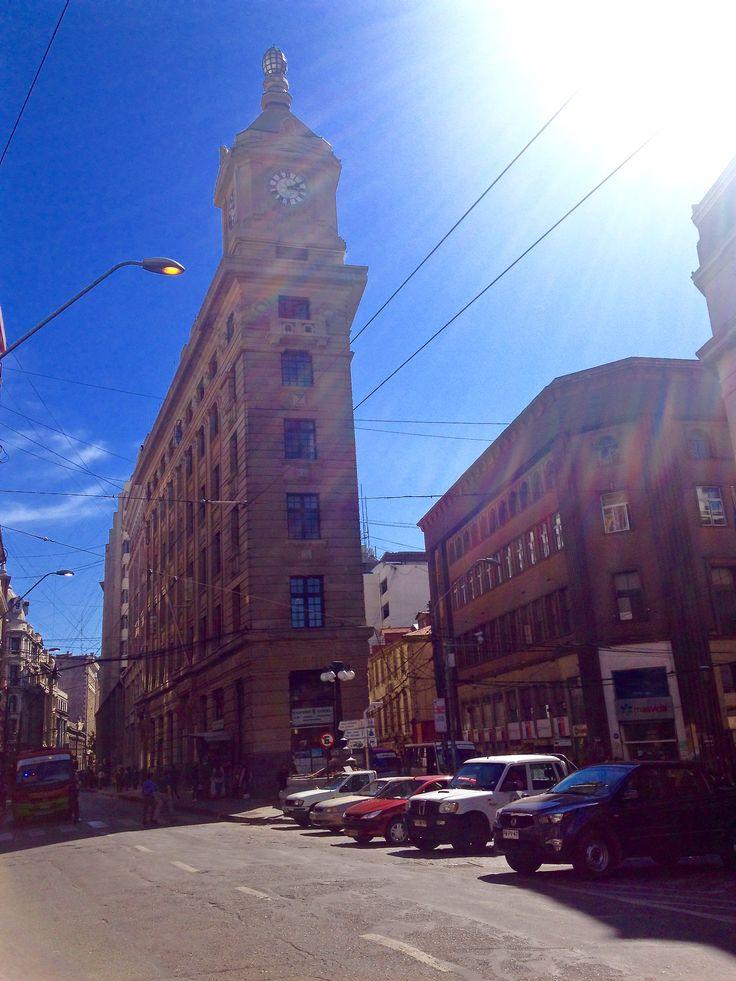 Recorriendo las calles de Valparaiso