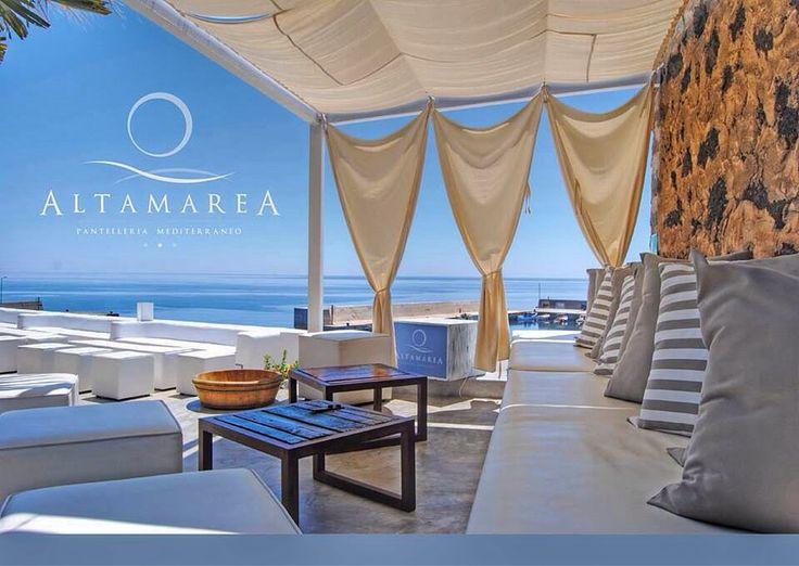 La terrazza sul mare di Pantelleria