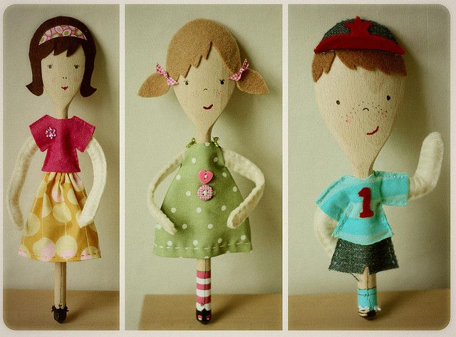 Handmade dolls 'Sooo cute'!-don't click...just picture