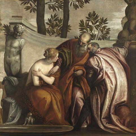 Suzanne et les vieillards, Véronèse (Musée du Louvre)