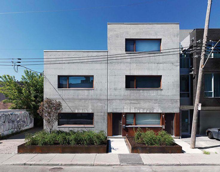 Charmant Facade Maison Design #10: La Maison Beaumont The Beaumont House PAR / BY Henri Cleinge, Architecte