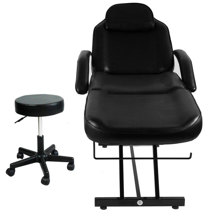 SPA DAY Adjustable Salon Bed Massage Tattoo Chair Facial Table Hydraulic Stool #OttersOutlet