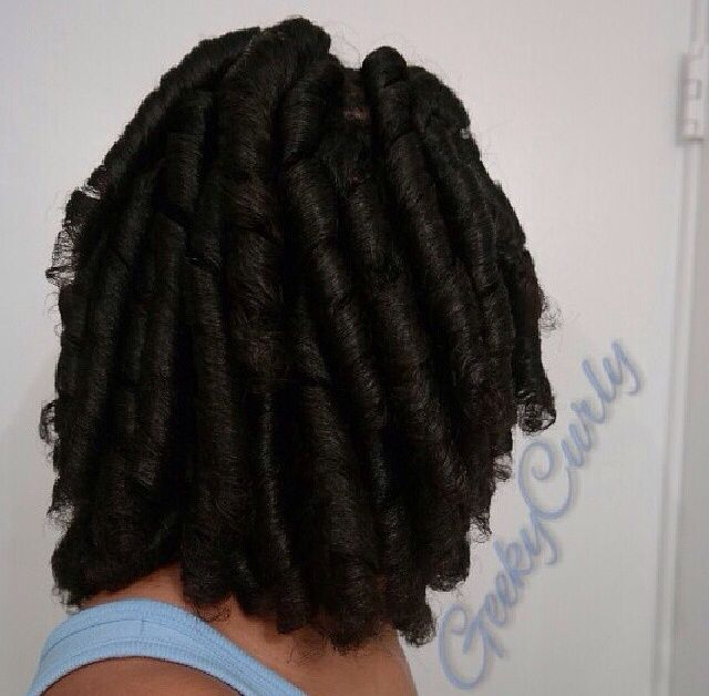Curlformers Vs Flexi Rods On Natural Hair