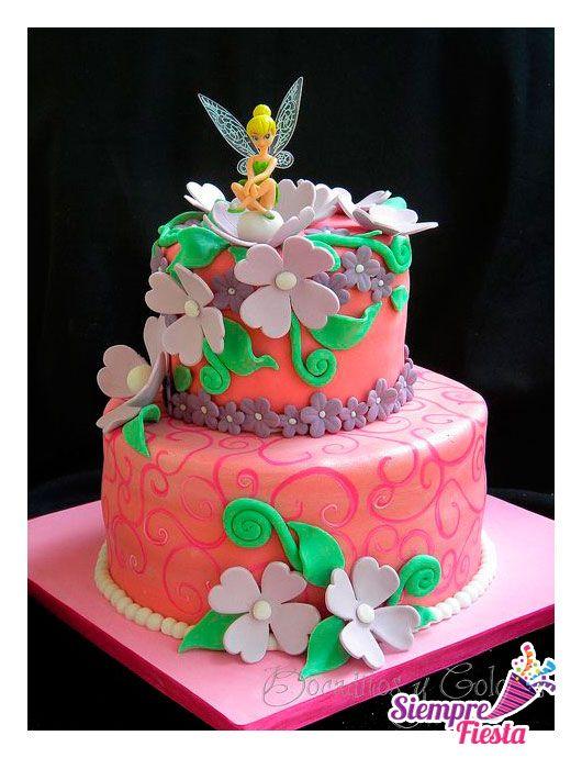 Ideas para pasteles de fiesta o de cumpleaños de Tinkerbell - Campanita. Encuentra nuestros artículos para esa fiesta aquí: http://www.siemprefiesta.com/fiestas-infantiles/ninos/articulos-toy-story.html?utm_source=Pinterest&utm_medium=Pin&utm_campaign=ToyStory