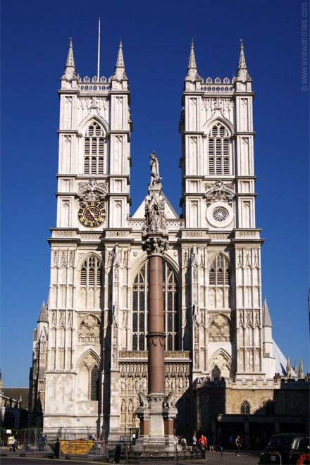 """Westminster Abbey - construction started in 1050 and spanned 8 centuries.  Edward the Confessor added a stone church, known as the West Minster, to exisiting Benedictine monastery.  Henry III began the rebuilding in 1245.  The abbey has medieval shrine to St Edward, an Anglo-Saxon saint, at it's heart.  The Abbey has been the coronation church since 1066 and has seen 16 royal weddings.  As neither cathedral nor parish church, it is a """"royal peculiar"""", answerable only to the Sovereign."""