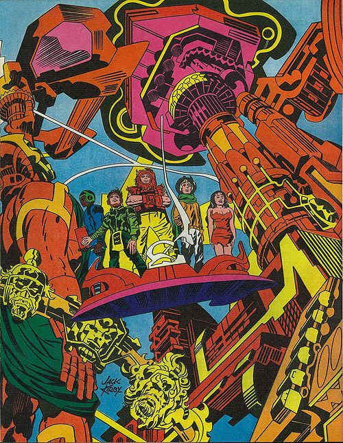 jack kirby's forever people