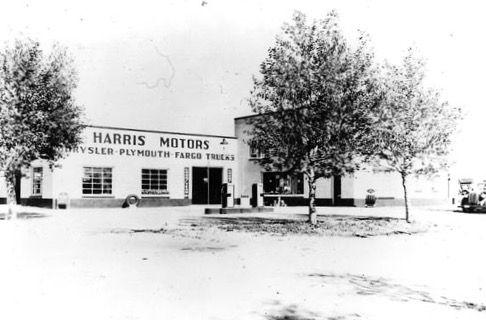 Harris Motors in its heyday.
