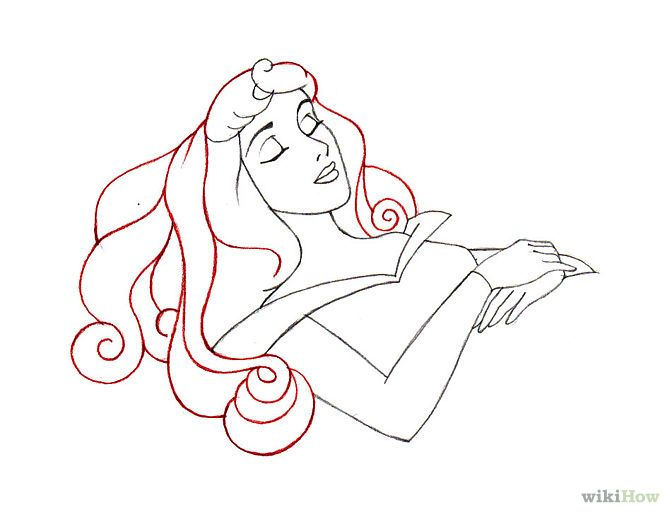 How to Draw Sleeping Beauty: 9 Steps (with Pictures ...