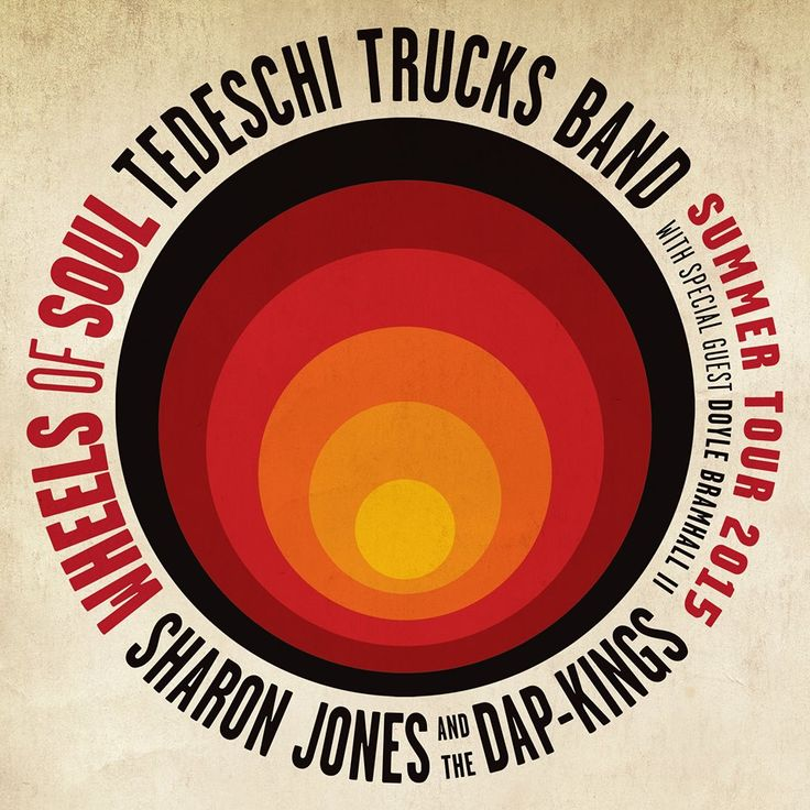 "Wheels of Soul 2015 Summer Tour with Tedeschi Trucks Band, Sharon Jones & The Dap-Kings - http://www.beachcarolina.com/2015/03/24/wheels-of-soul-2015-summer-tour-with-tedeschi-trucks-band-sharon-jones-the-dap-kings/ Outback Concerts and Flat 5 Productions Present  Wheels of Soul 2015 Summer Tour Tedeschi Trucks Band Sharon Jones & The Dap-Kings ""with special guest"" Doyle Bramhall II   Saturday · July 18 · 6:30 p.m.   Tickets on Sale Friday, March 27 at 10 a.m."