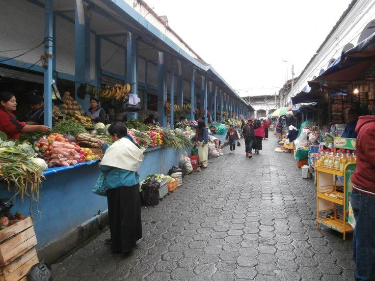 Otavalo food market