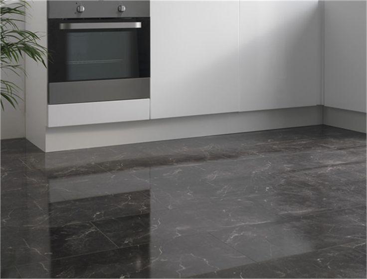 SAMPLE ORDERED 28/12/2016 - 8mm Bottocino Classico Black Tile Flooring