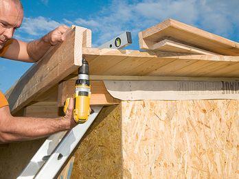 Gartenhaus selber bauen – Dachbegrünung