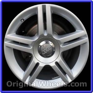 OEM 2005 Audi A4 Rims - Used Factory Wheels from OriginalWheels.com #AudiA4 #A4 #2005AudiA4 #05AudiA4 #2005 #2005Audi #2005A4 #AudiRims #A4Rims #OEM #Rims #Wheels #AudiWheels #AudiRims #A4Wheels #steelwheels #alloywheels