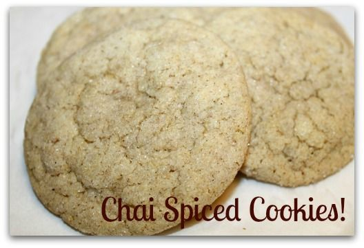 Chai Spiced Sugar Cookies | Cookies | Pinterest