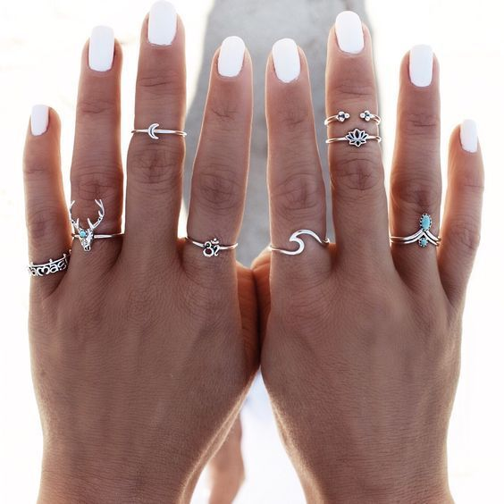 Trend to Try: Midi Rings See how to style this mus…