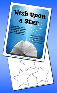 Free! Wish Upon a Star is a system for requesting materials for your classroom during open house or on the first day of school. It's a freebie from Laura Candler's Back to School Super Start Pack!Everyday Ideas, Corkboard Connection, Real Teachers, Classroom Freebies, Real Teachr, Stars Classroom, Bulletin Boards, Classroom Materials, Classroom Ideas