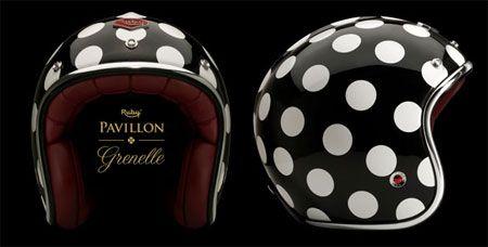 Retro Scooter Helmets for Women | Retro To Go: Ruby Pavillon - retro motorbike and scooter helmets...for Casey