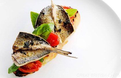 Grilled Sardines Recipe With Tomato Confit - Great British Chefs