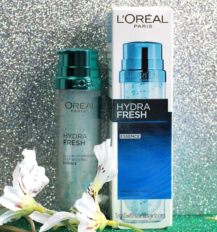 Loreal Hydrafresh All Day Hydration Deep Boosting Essence Review,Loreal hydrafesh,Trystwithvanillagirl
