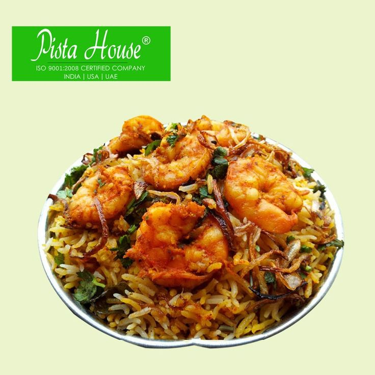 """Oder delicious #PistaHouse   #PrawnsBiryani and get 10% off only at #BringHomeFestival .  Use """"BAKREID2016"""" as #CuponCode to avail the special offer."""