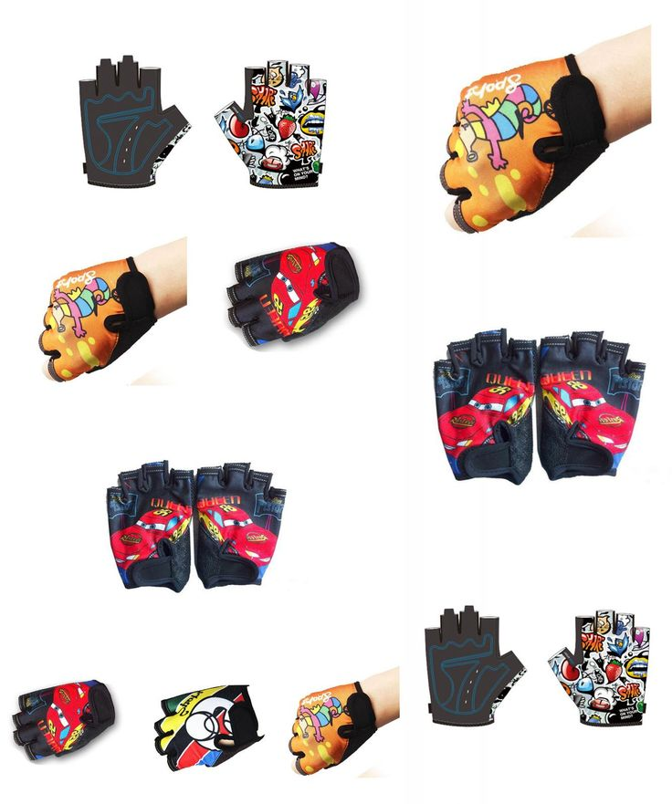 [Visit to Buy] Children Cycling Gloves Luva Ciclismo Guantes Gym Bicycle Mtb Fingerless Gloves Guanti Ciclismo Gloves Luvas Para De Ciclismo #Advertisement
