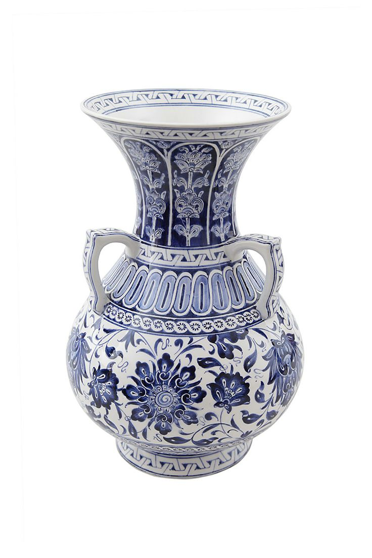 Tile oil lamp chember with three handle - İznik, Turkey