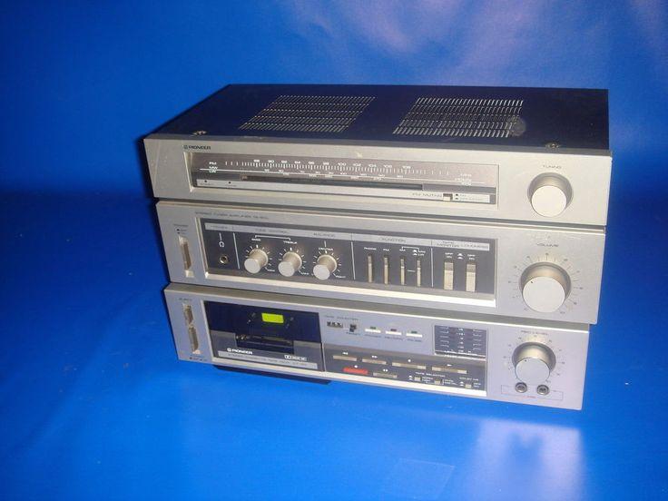 Cadena de musica por modulos PIONEER system X 1200-buen estado!!
