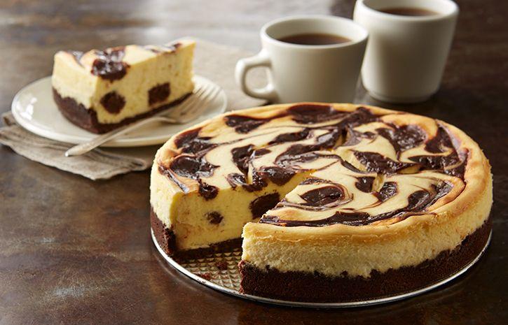 Hershey's Kitchens   brownie-sundae-cheesecake