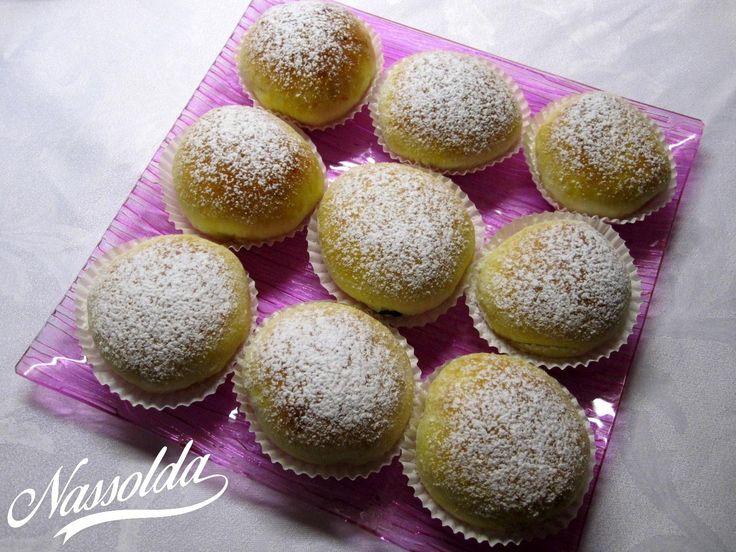 Nutellás muffin fánkok   Nassolda